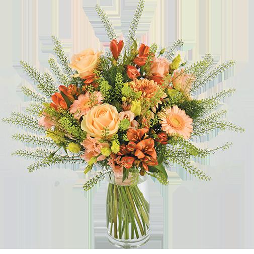 Bouquet de fleurs Eté indien