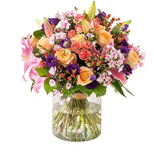 Bouquet de fleurs Gala Naissance