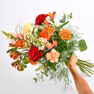 Bouquet de fleurs Garden party Amour