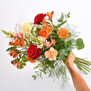 Bouquet de fleurs Garden party Collection Hommes