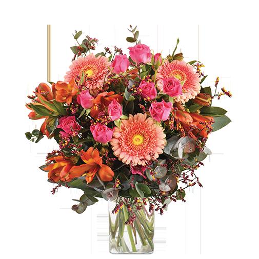 Bouquet de fleurs Liberty