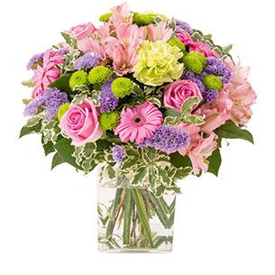 Bouquet de fleurs Mélodie Amour