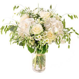 Bouquet de fleurs Nuage Naissance