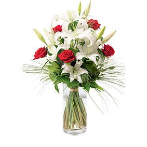 Bouquet de fleurs Orphée Amour