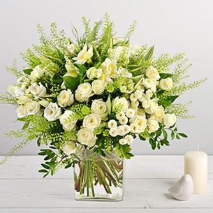 Bouquet de fleurs Perlita Mariage invité