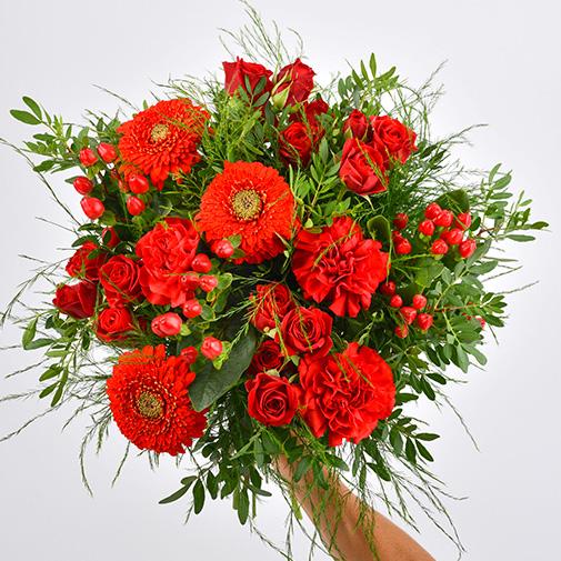 Bouquet de fleurs Pomme d'amour