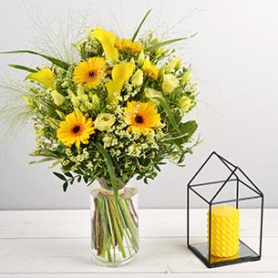 Bouquet de fleurs Pop Remerciements