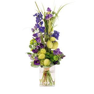 Bouquet de fleurs Saphir Anniversaire