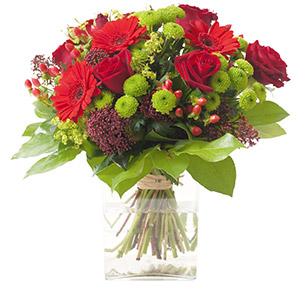 Bouquet de fleurs Sensation Amour