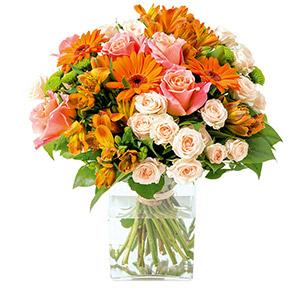 Bouquet de fleurs Subtil Naissance
