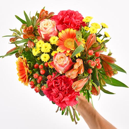Bouquet de fleurs Tutti frutti