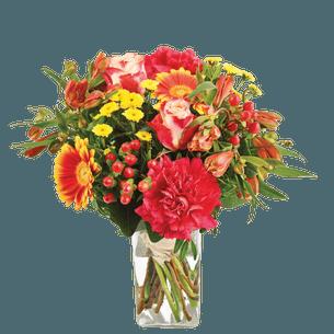 Bouquet de fleurs Tutti frutti Fête des Grands-Mères