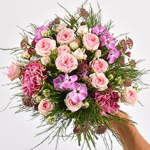Bouquet de fleurs Velours Remerciements