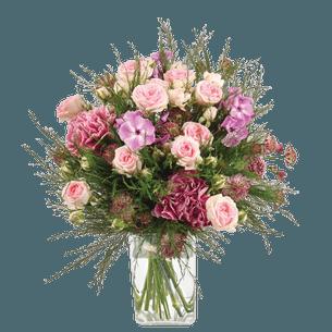 Bouquet de fleurs Velours Fête des Mères