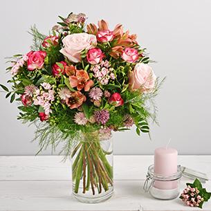 Bouquet de fleurs Vénus Mariage invité