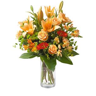 Bouquet de fleurs Voyage Anniversaire