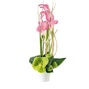 Composition florale Caprice Mariage invité