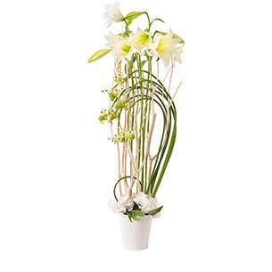 Composition florale Nacre Anniversaire