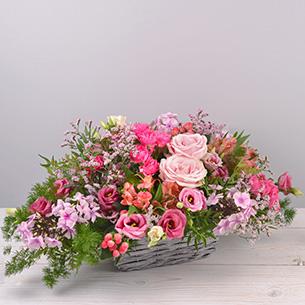 Composition florale Rosemantic Remerciements