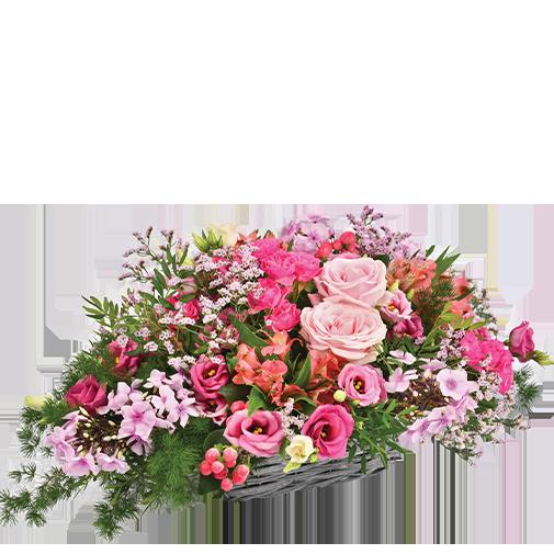 Composition florale Rosemantic