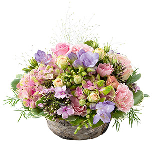 Composition florale Santorin Anniversaire