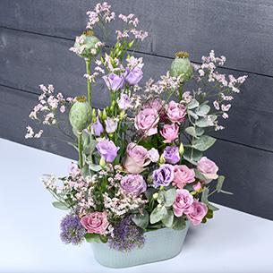 Composition florale Sentimental'O Remerciements