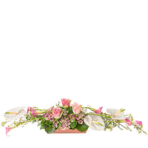 Composition florale Smart Mariage invité