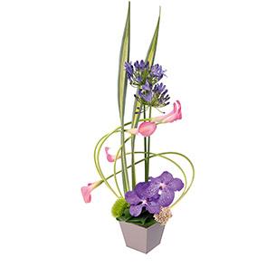 Composition florale Swing Naissance