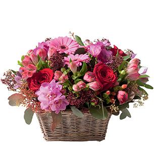 Composition florale Symphonie Mariage invité