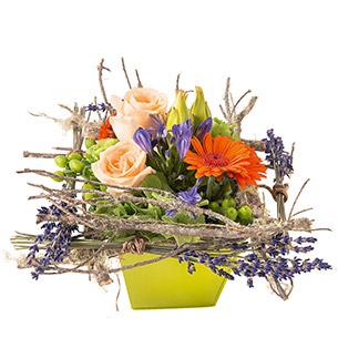 Composition florale Zest Anniversaire