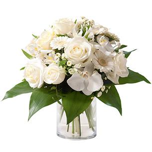 Composition florale Adonis Mariage invité