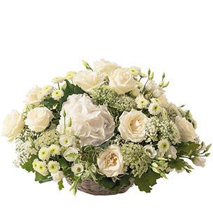 Composition florale Merveille Mariage invité