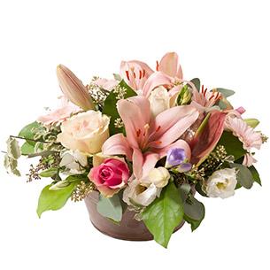 Composition florale Plaisir Mariage invité