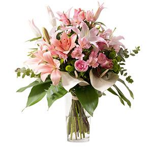 Composition florale Roméo Mariage invité