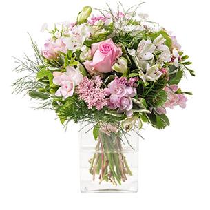 Composition florale Rosa Naissance