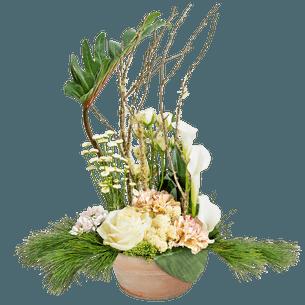Fleurs deuil Infini Deuil
