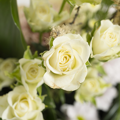 Fleurs deuil Infini
