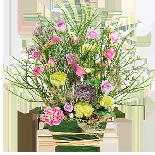 Fleurs deuil Menuet Deuil