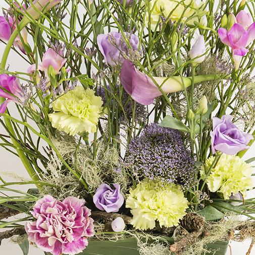 Fleurs deuil Menuet