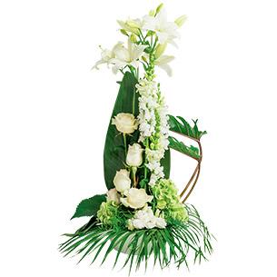 Fleurs deuil Eternel Deuil