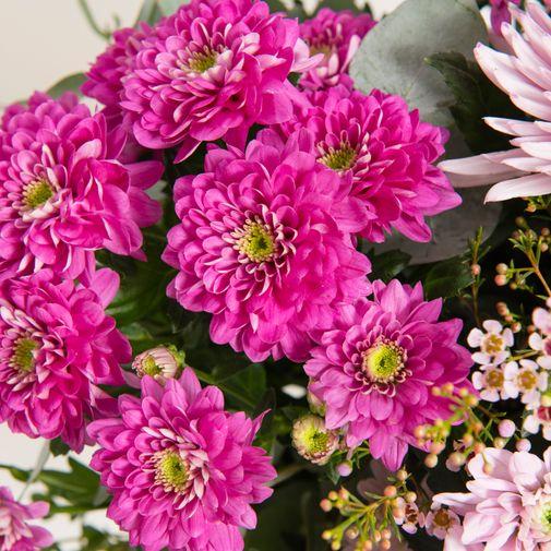 Fleurs deuil Sonate et sa bulle d'eau
