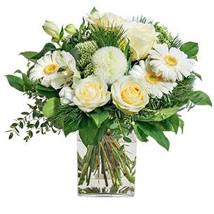 Fleurs deuil Etoile Deuil