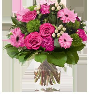 Fleurs deuil Amour éternel rose Deuil