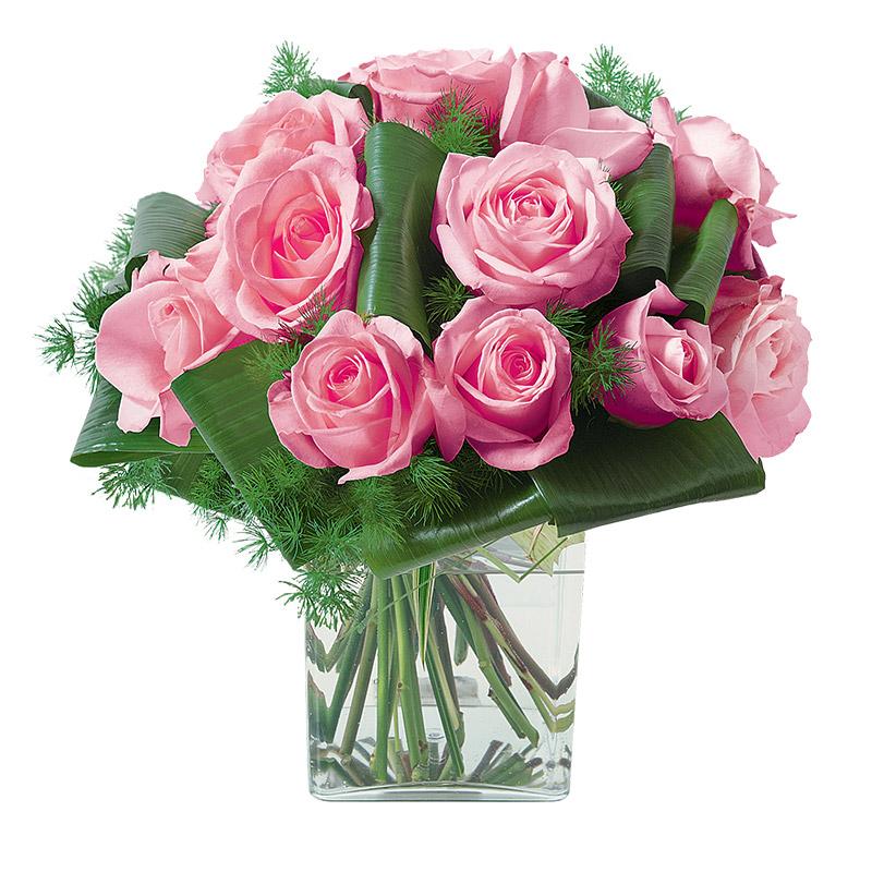 Fleurs deuil Olympie Rose