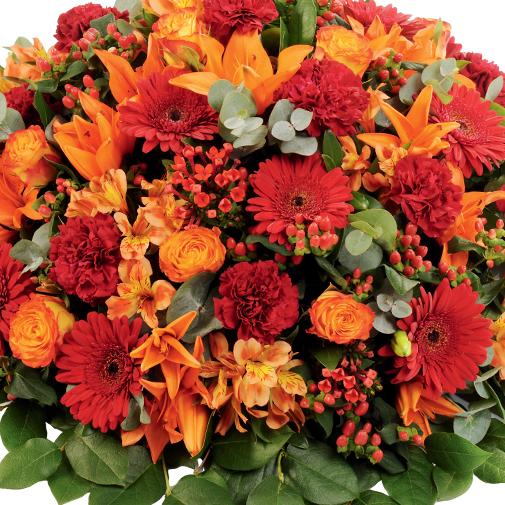 Fleurs deuil Mémorial