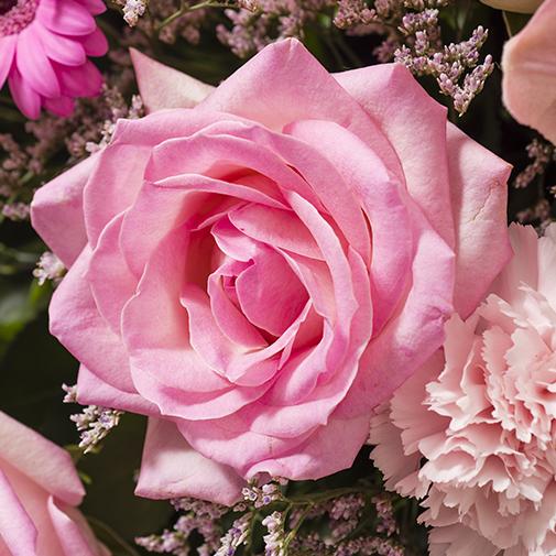 Fleurs deuil Pure rose