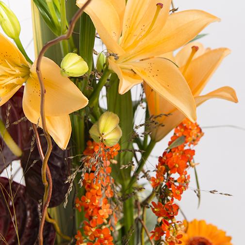 Fleurs deuil Atrium