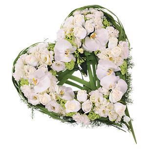 Fleurs deuil Cœur d'ange Deuil