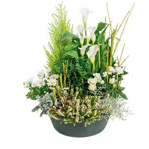 Fleurs deuil Eden Deuil