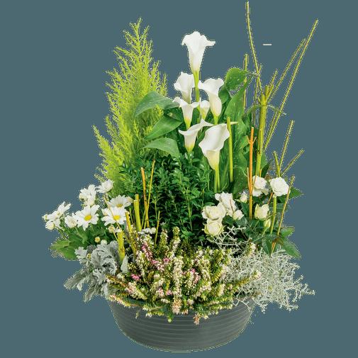 Fleurs deuil Eden